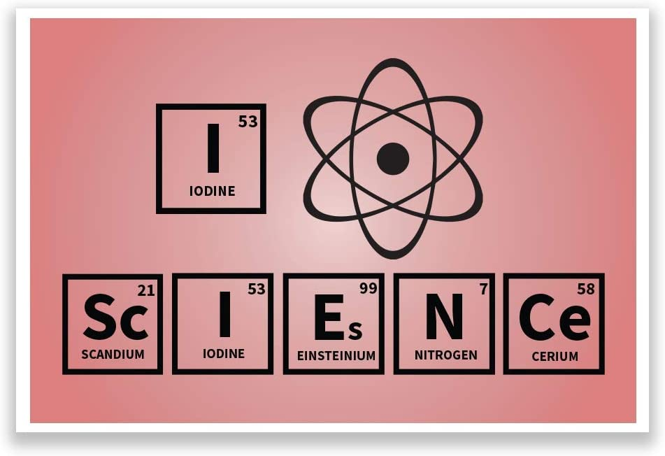 DHDM Sale item Designs Classroom Outstanding Poster I Science Print Love 12-Inc Atom