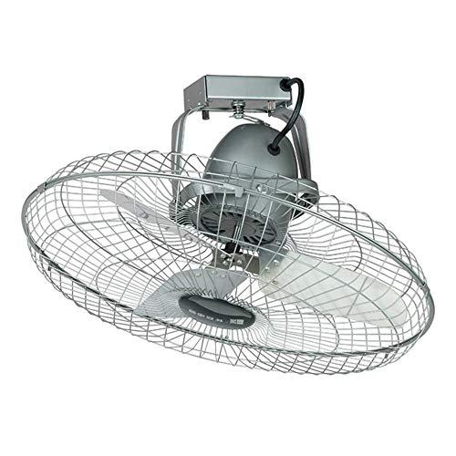 YINUO Fans Energiesparender Lüfter Hochleistungs-Metall-Deckenventilator/Dach-Industrieventilator/Großes Luftvolumen Wand-Deckenventilator / 360 Grad; Moving Head Fan Geeignet für Werkstätten, Gar