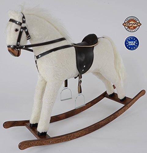 MJmark ALBINO Handmade Rocking Horse Titan V from