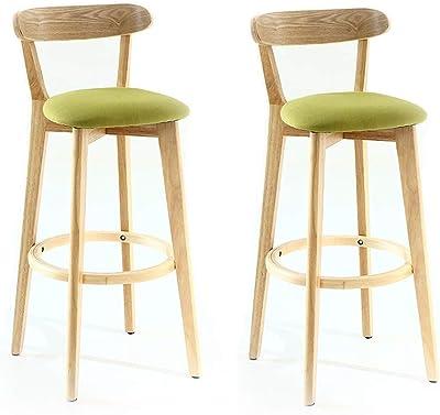 Amazon.com: NUBAO Taburete de bar retro antiguo, sillón de ...
