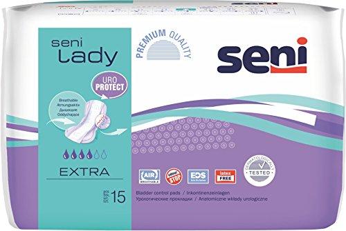 Seni Lady extra (16 x 15 Stk.) Inkontinenzvorlage bei leichter Inkontinenz