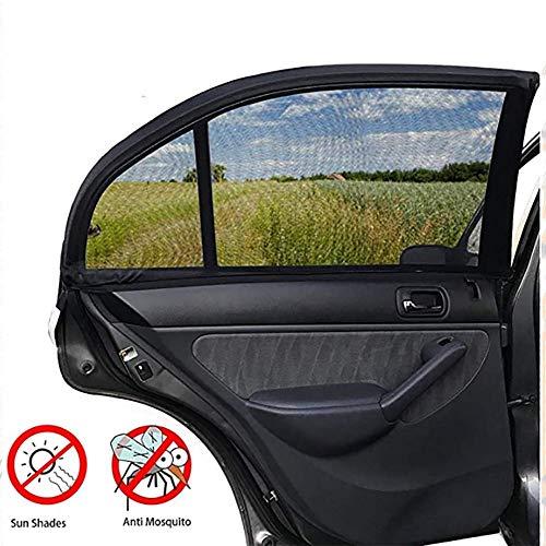 Universele auto zonneschermen met zijdeur achter met vierkante deuren - voor voertuigen met zijruiten, geschikt voor commerciële voertuigen, SUV,Front window,2
