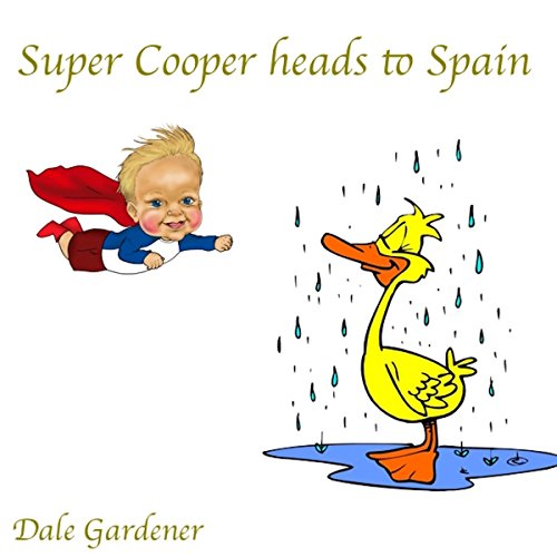 Super Cooper Heads to Spain audiobook cover art