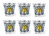 Excelsa Amalfi , Coordinati Stoviglie Tavola , Bicchieri Qualità Extra