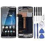 Accesorios de reemplazo de teléfonos celulares Pantalla LCD de material AMOLED y ensamblaje completo del digitalizador con marco para FÜR ZTE Axon 7 A2017 A2017U A2017G Pieza de repuesto de teléfono