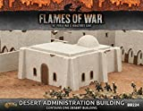 Flames of War Desert Administration Building - Painted