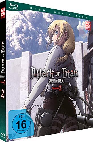 Attack on Titan - Staffel 3 - Vol.2 - [Blu-ray]