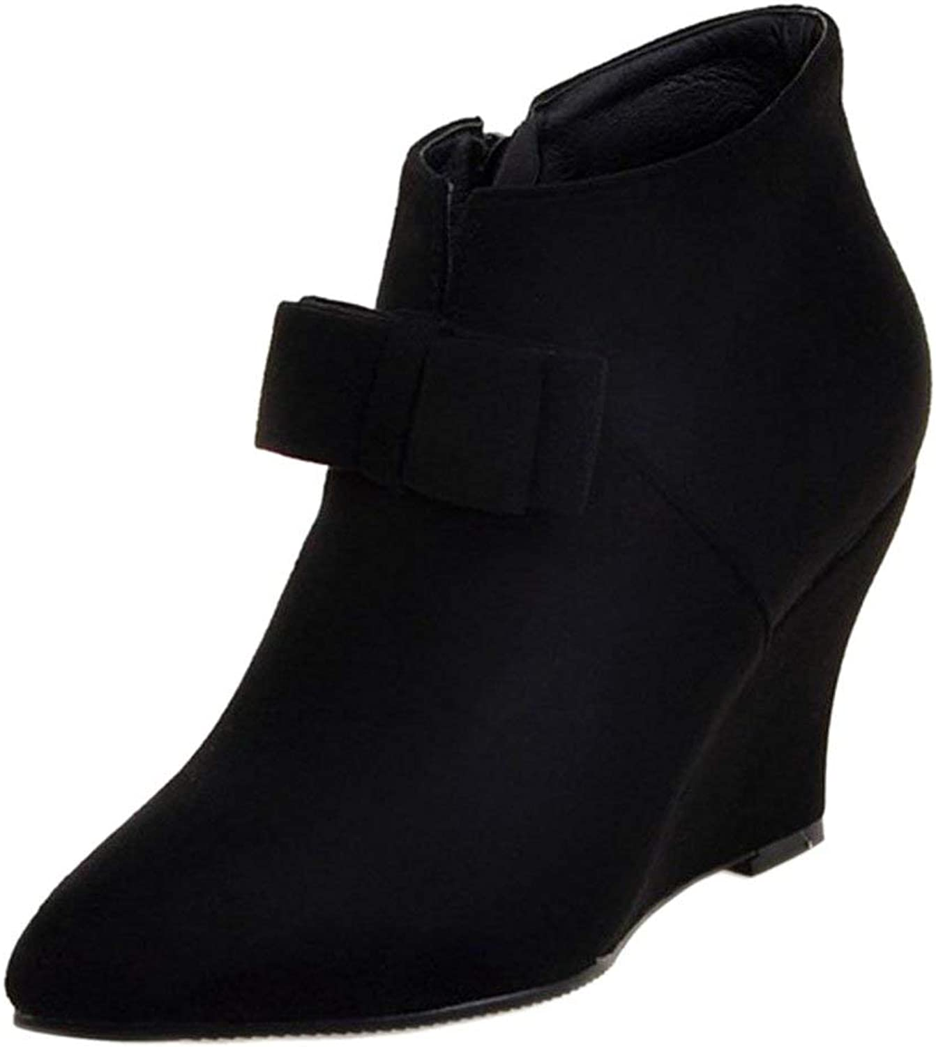 Unm Women's Wedge Ankle Boots