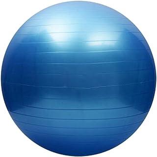 KateSui Exercise Ball, Fitness, Stability, Balance, Anti-Burst Yoga Ball, Heavy Duty Pilates Ball with Foot Air Pump
