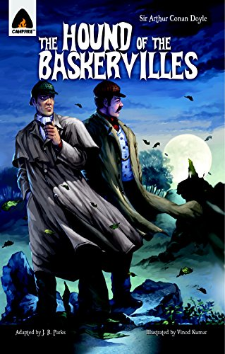 Compare Textbook Prices for The Hound of the Baskervilles: The Graphic Novel Campfire Graphic Novels Illustrated Edition ISBN 9789380028446 by Parks, JR,Doyle, Sir Arthur Conan,Kumar, Vinod