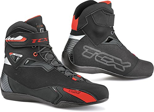 Botas de Moto TCX Rush, Negro, 41
