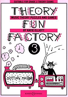 THEORY FUN FACTORY 3 VOL. 3: Music Theory Puzzles and Games