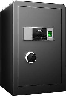 KELITE Fingerprint Password Safe Double Anti-theft Safe Deposit Box High Safety Performance Office and Home Storage Cabine...