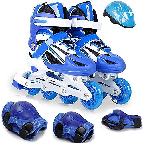 Roller Roller Skate Enfants Set Full Set Filles Chaussures Rouleaux Inline Skates Garçons Rangée 3 10 ans Débutants Enfants Enfants Enfants Enfants Garçons Ski de glace adulte Pour les femmes et les h