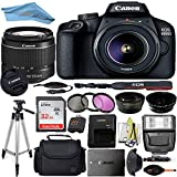 Canon EOS T100/4000D DSLR Camera with 18-55mm...