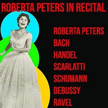 Roberta Peters in Recital