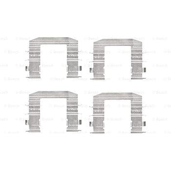 Scheibenbremsbelag für Bremsanlage Hinterachse BOSCH 1 987 474 470 Zubehörsatz