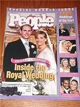 People Magazine Back Issue July 1999 Weddings of the Year Cover Edward & Sophie Barbra Streisand & James Brolin John Stamos & Rebecca Romijn