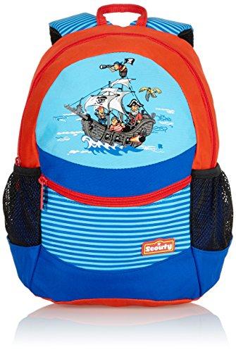 Scout Kinder-Rucksack Rucksack Pirat 8.5 Liters Blau 21090094900