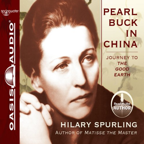 Pearl Buck in China audiobook cover art