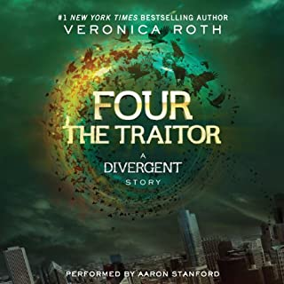 Four: The Traitor audiobook cover art