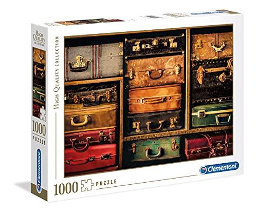Clementoni- Puzzle 1000 Piezas Travel, Multicolor (39423.4)