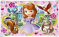 Mopoq 木製パズルの小さな王女ソフィア千枚(組み立てサイズ75×50 cm)の子どもの早期教育知育玩具ギフトカスタムDIY (Color : E)