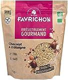 FAVRICHON - MUESLI CRISP DE CHOCOLATE Y CASTAÑA 375G