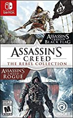 Includes both Assassin's Creed IV Black Flag and Assassin's Creed Rogue, plus all single-player DLC. Become the most feared pirate in the Caribbean in Assassin's Creed IV Black Flag. Take part in an award-winning naval experience and explore a massiv...