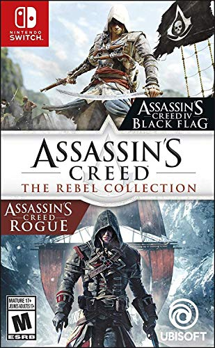 [Switch] Assassin's Creed: The Rebel Collection - $19.99 at Amazon & GameStop (Pre-owned for $15.11)