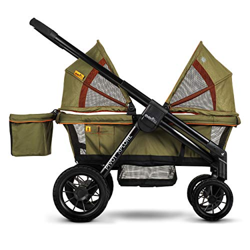 Find Discount Evenflo Pivot Xplore All-Terrain Stroller Wagon Gypsy