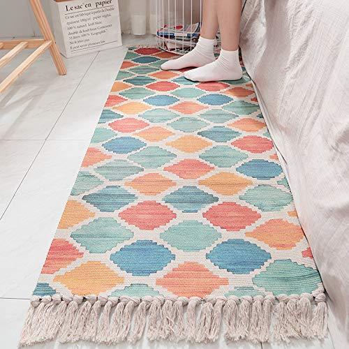 VOVTT Teppichgreifer Antirutschmatte, Antirutschmatte Für Teppich, Rug Grippers Rutschfester Teppichunterlage, Washable Wiederverwendbar Teppich,60x180cm