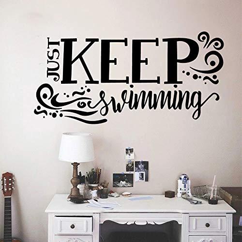 Etiqueta engomada decorativa de la pared de la decoración de la habitación del vinilo del baño del cuarto del bebé respetuoso del medio ambiente de la diversión