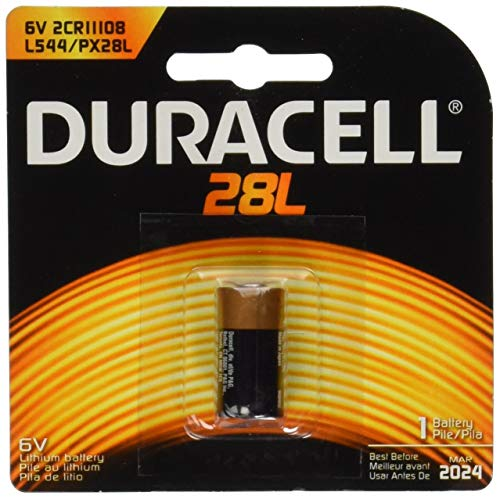 Duracell PX28LBPK Photo Batteries, Size 6.0 Volt Lithium