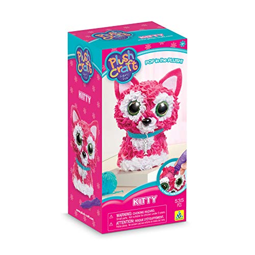 The Orb Factory PlushCraft Kitty 3D Kit
