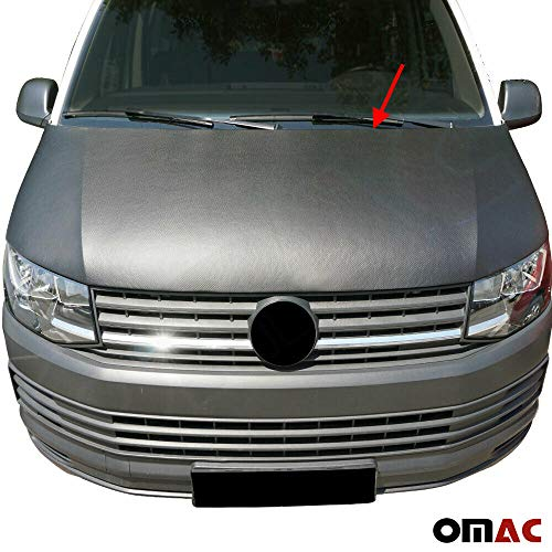 Haubenbra Bonnet Bra für T6 Transporter Multivan Caravelle VI Schutz Carbon Optik Steinschlagschutz