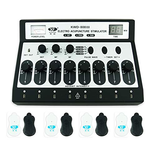 The 8 Channel ACU Machine - Best Electro Acupuncture Stimulator for Professionals
