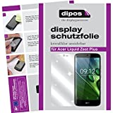 dipos I 6X Schutzfolie klar kompatibel mit Acer Liquid Zest Plus Folie Bildschirmschutzfolie