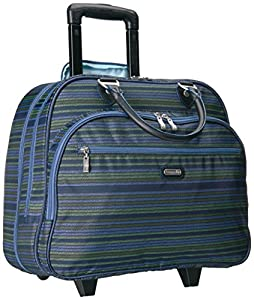 Baggallini Carryon Rolling Travel Tote