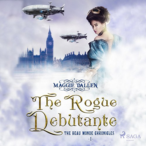 The Rogue Debutante audiobook cover art