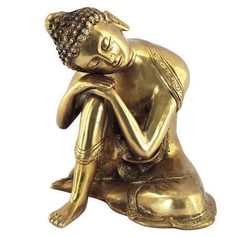 Signes Grimalt - Figura Bronce Buddha Sentado 17 cm 11906SG