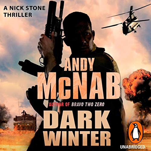 Dark Winter     Nick Stone, Book 6              Written by:                                                                                                                                 Andy McNab                               Narrated by:                                                                                                                                 Steven Pacey                      Length: 2 hrs and 59 mins     Not rated yet     Overall 0.0