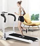 HRSS Ardilla motorizada Plegable, Velocidad Ajustable, Pantalla LCD Plegable rodante Caminar for el hogar y la Oficina