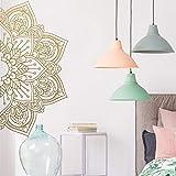 BFMBCH Mandala Vinyl Wandtattoos Haus Yoga Applique Kreative Aufkleber Schlafzimmer Wohnzimmer...