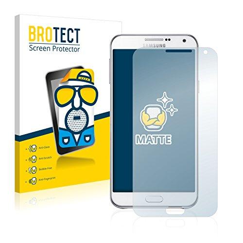 BROTECT 2X Entspiegelungs-Schutzfolie kompatibel mit Samsung Galaxy E7 Bildschirmschutz-Folie Matt, Anti-Reflex, Anti-Fingerprint