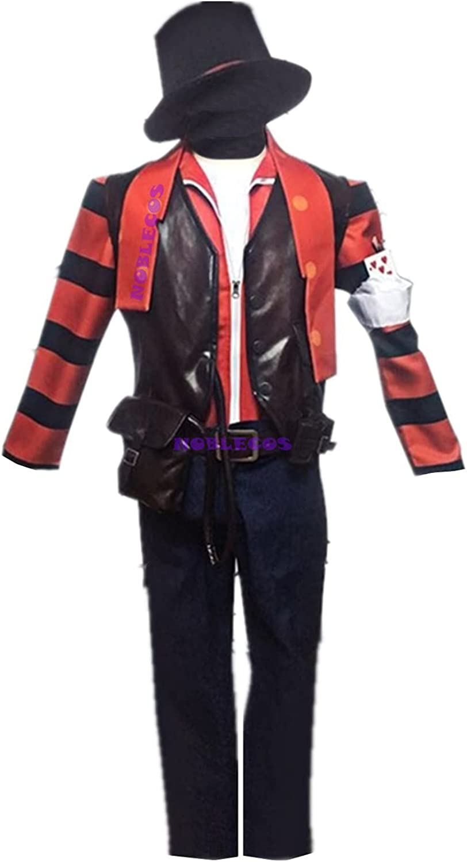 Identity Atlanta Mall V Joker Cosplay Costume Smiley Clown Cos Face Many popular brands Halloween
