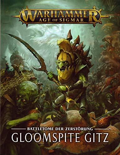 Age Of Sigmar Warhammer Battletome der Zerstörung: Gloomspite Gitz Grand Alliance Destruction Grotz