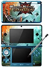 Skinhub Monster Hunter Generations MHX Cross Game Skin for Nintendo 3DS Console