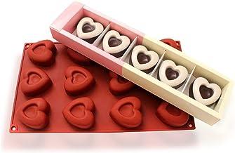 molde forma silicone cupcake chocolate e bombom 12 forminha