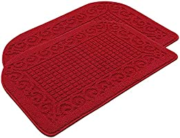 Anti Fatigue Kitchen Rug Mats are Made of 100% Polypropylene Half Round Rug Cushion Specialized in Anti Slippery and...